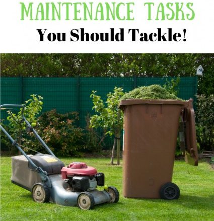 Summer Home Maintenance Tasks