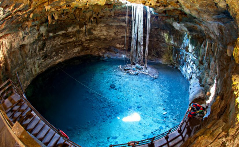 Do you know how the cenotes were formed?