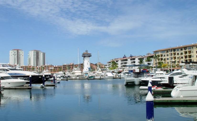 The Beautiful Marina Area in Puerto Vallarta