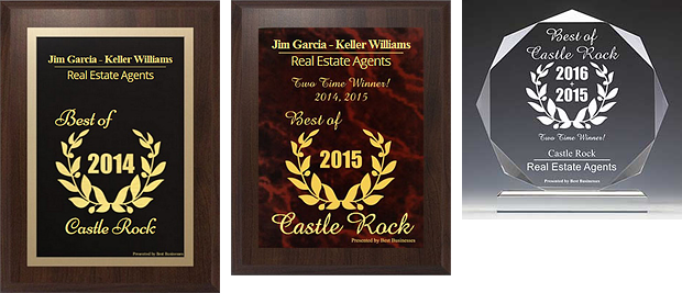 Best Businesses of Castle Rock Award